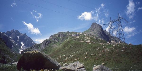 Etzlihütte und Rossbodenstock von Müllersmatt aus