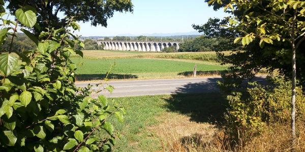 Pont du Chemin de fer Paris-Est Mulhouse