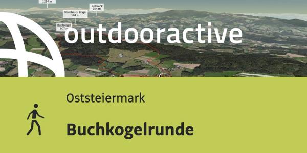 Wanderung in der Oststeiermark: Buchkogelrunde