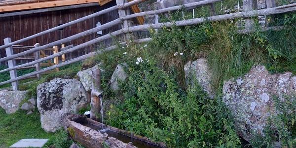 Fontana vicino alla Baita