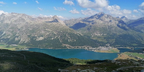 View of Lake Silvaplana