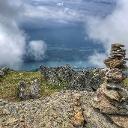 Ausblick vom Gipfel