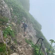 Abstieg direkt hinter der Himmelspforte