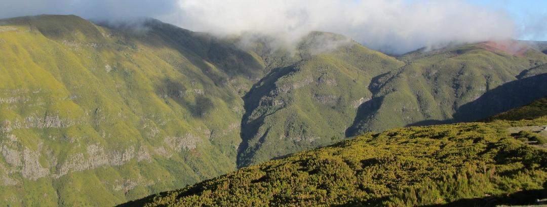 Mountainscape of Madeira