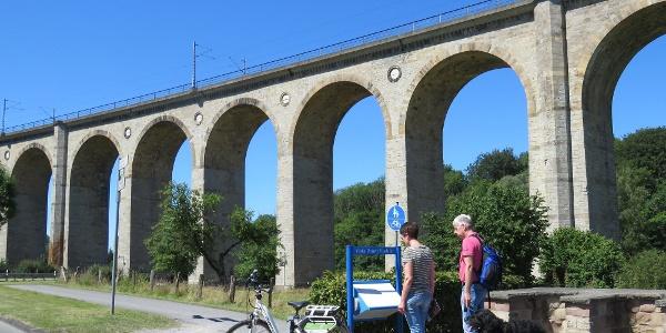 Viadukt Radweg in Altenbeken