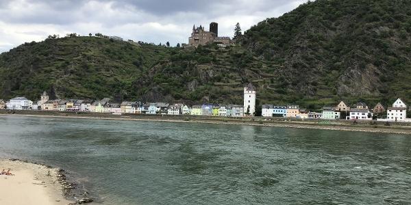 Schleifenroute - Loreleyfels mit Schloss