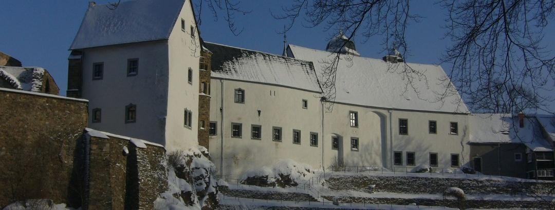 Schloß Lauenstein im Winter