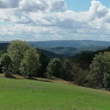 Blick zum hohen Westerwald