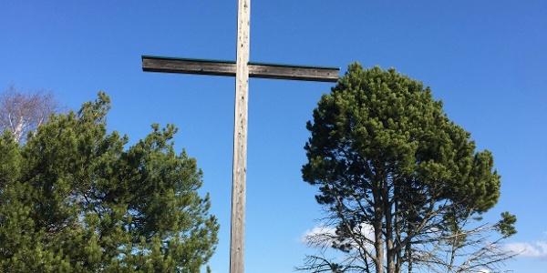 Kreuz auf der Erzherzog Johann Höhe