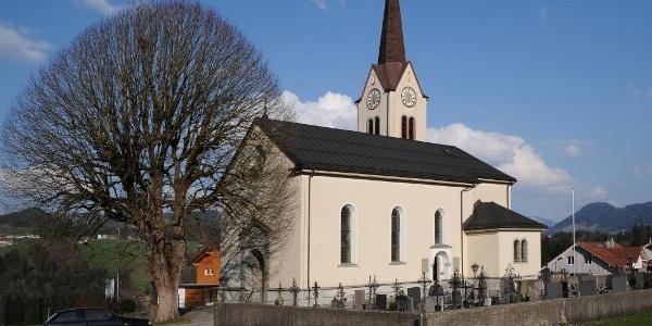 Alberschwende, Expositurkirche Heiliges Herz Jesu Mariä