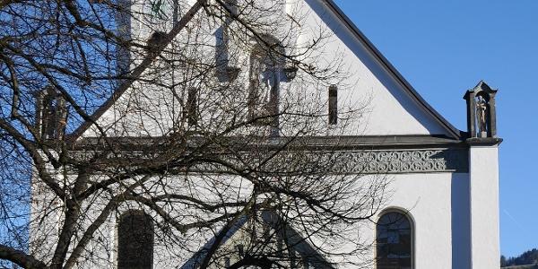 Andelsbuch, Katholische Pfarrkirche Heilige Petrus und Heiliger Paulus