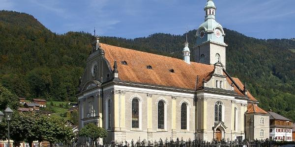 Bezau, Katholische Pfarrkirche Heiliger Jodok 1