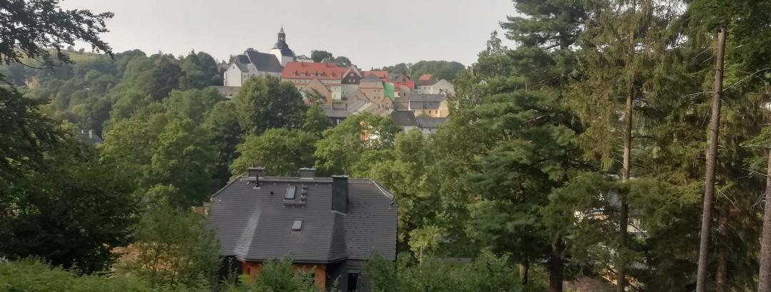 Lauenstein vom Kirchsteig