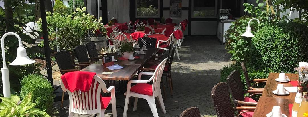 Gartenanlage im Sauerländer Hof
