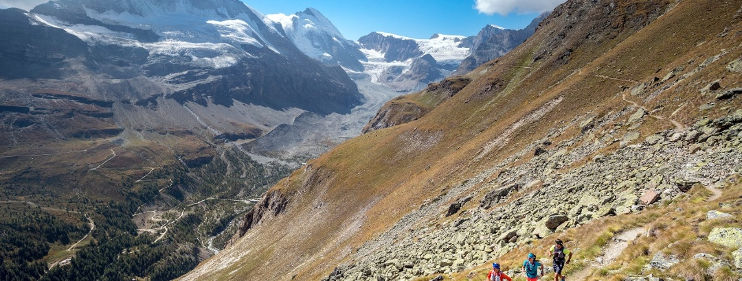 Am letzten Tag erreichen Sie das Matterhorn aus einer ungewöhnlichen Schrägung