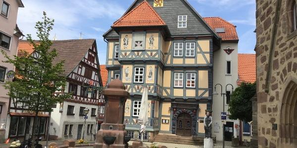Schleifenroute - Hessisch Lichtenau Frau Holle Museum