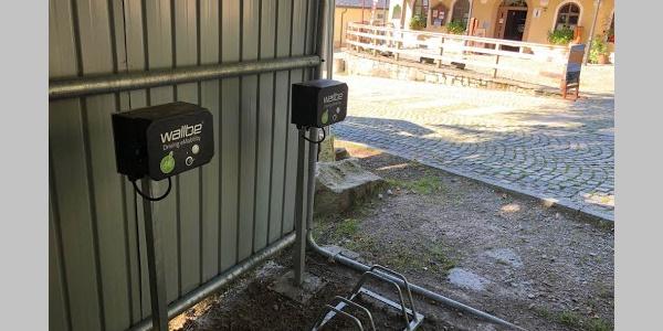 E-Bike-Ladestation am Berghotel Greifensteine