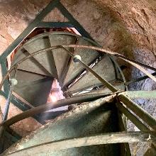 Wendeltreppe in der Starhemberwarte