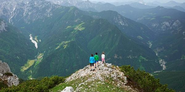 Am aussichtsreichen Gipfelrücken