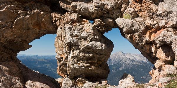 Birnhornfensterl in der Breithorn Südwand