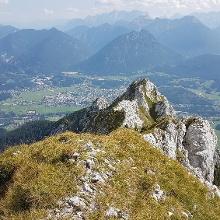 Blick zurück zur Blaichspitze