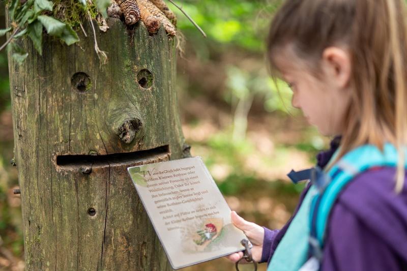 Fairytale hiking trail