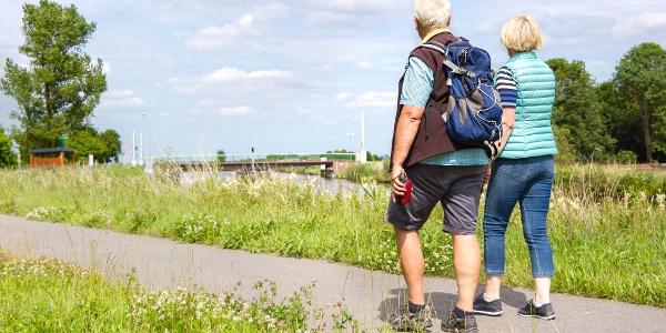 Ems-Jade-Weg, Foto: Von der See