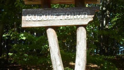 Rudolftanyai pihenőhely