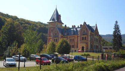 A híres parádsasvári kastélyszálló