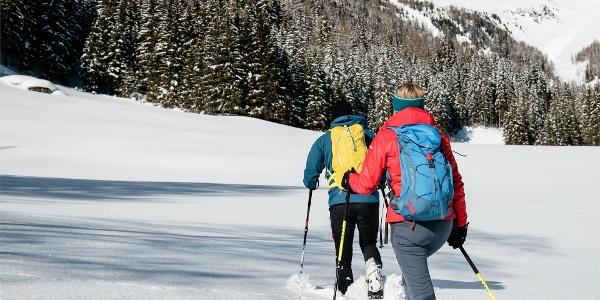 Schneeschuhwandern Ahrntal