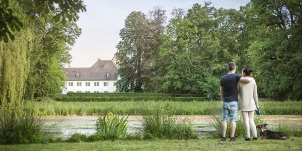 Schlosspark Schönborn`sches Schloss Wiesentheid