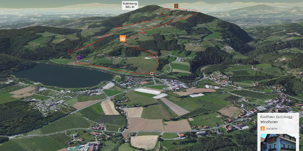 Wanderung in der Oststeiermark: Kulmweg