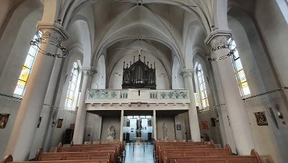 Die Stumm-Orgel in der katholischen Kirche in Rhaunen