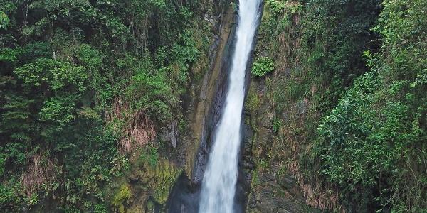 Wasserfall am Vulkan Turrialba