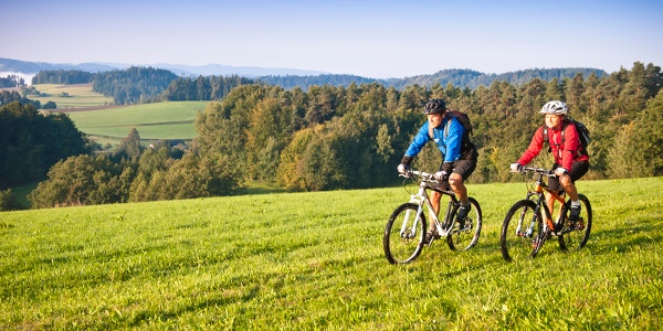 Mountainbiken im Mühlviertel
