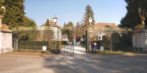 Eingangsportal des Wenkenhofs, Riehen