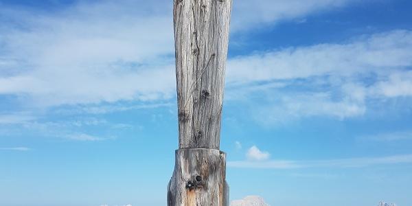Gipfelmadonna am Persailhorn