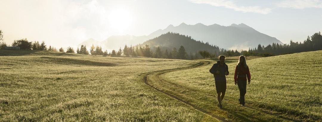 Buckelwiesen Sonnenaufgang