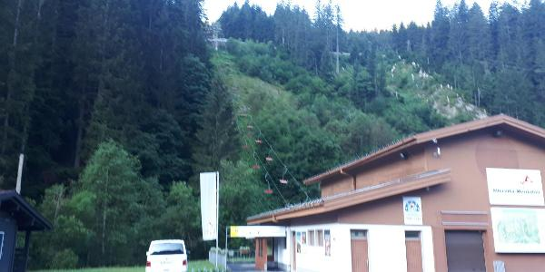 Talstation Garfreschabahn