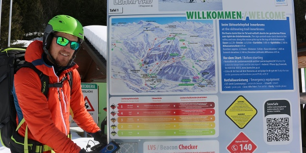 Skitouren-Lehrpfad Ausgangspunkt