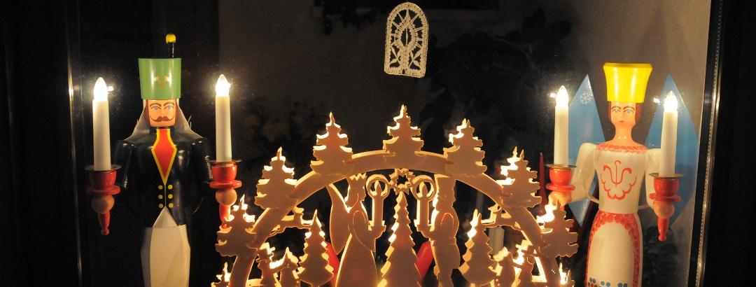 Urlaubsregion Altenberg im Winter - Weihnachtszeit