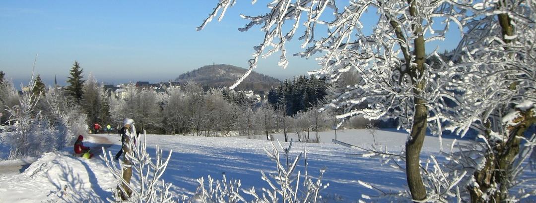 Urlaubsregion Altenberg im Winter - Geisingberg