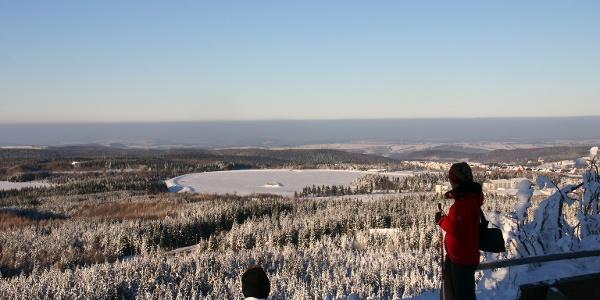 Urlaubsregion Altenberg im Winter - Kahleberg