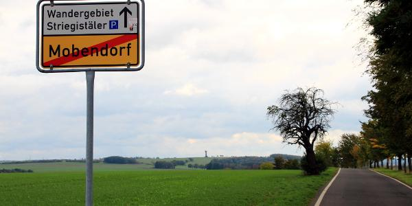 Ortsausgang Mobendorf