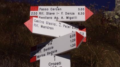 Cima Payer dalla val di Genova
