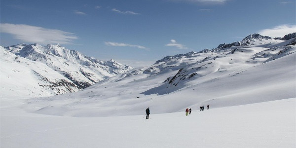 Skitour zur Ötzi Fundstelle