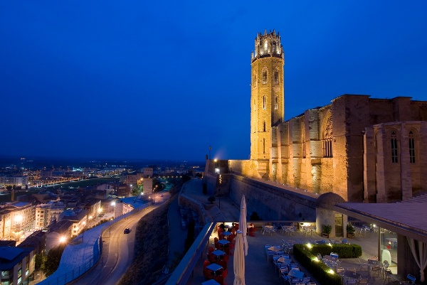 """Die Kathedrale """"Seu Vella"""" in Lleida"""