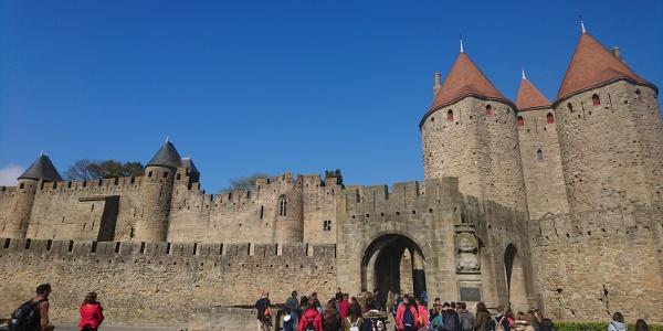 Porte Narbonnaise, Start- und Endpunkt der Wanderung