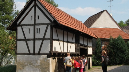 Führung in Gochsheim, ein alter Saustall