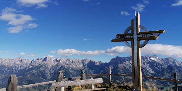 Gipfelkreuz Klingspitz
